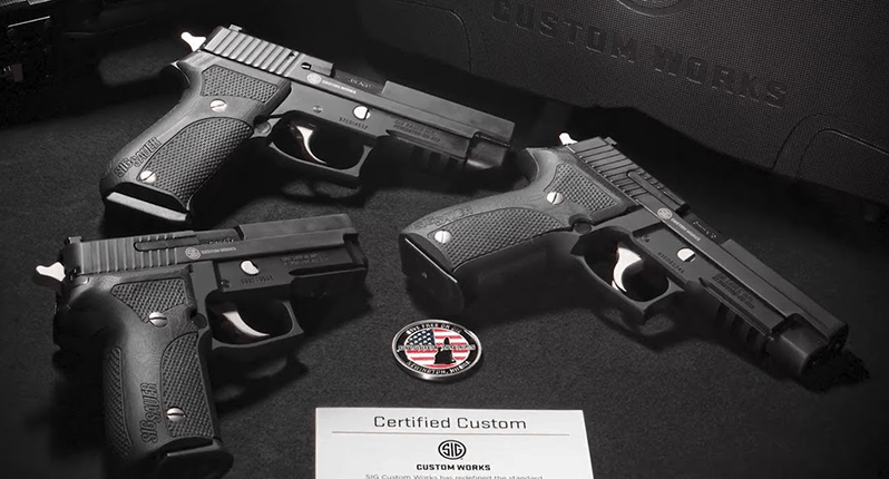 SIG Custom Works Introduces the Limited Edition Nightmare Pistols Series