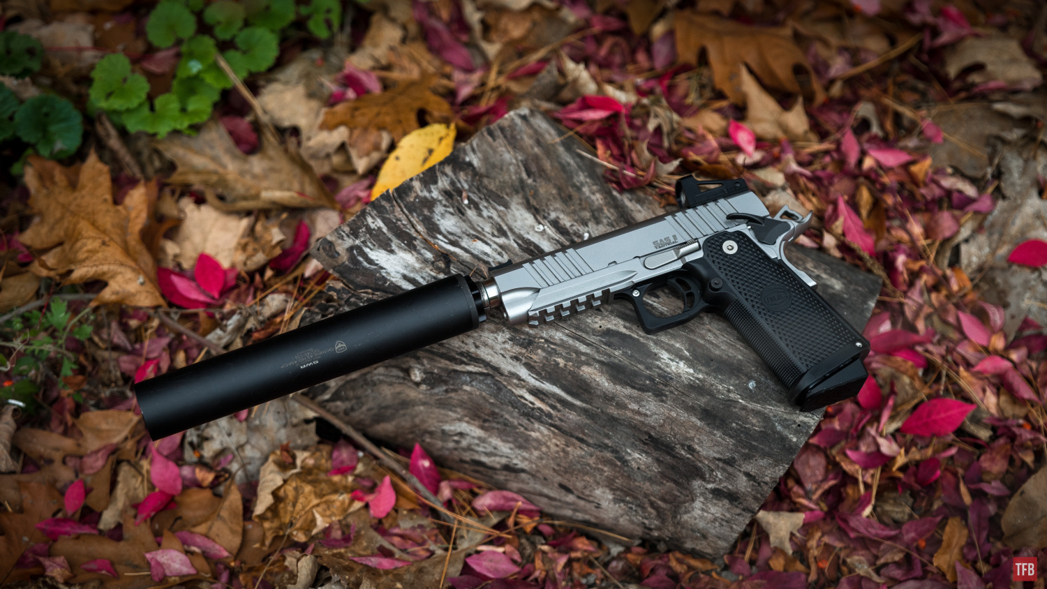 Quiet Time With The 9mm Bul Armory Double Stack 1911The Firearm Blog