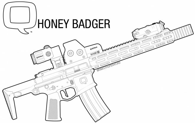 SHUT DOWN: Q LLC Forced to stop Producing Honey Badger Pistol