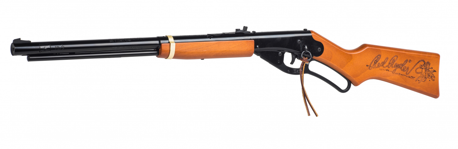 The other side of this special edition Red Ryder features the traditional rope logo, which has been used for decades.