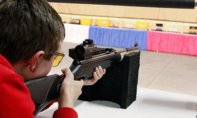 In normal years, the NRA GAOS features shooting-related fun for the whole family.