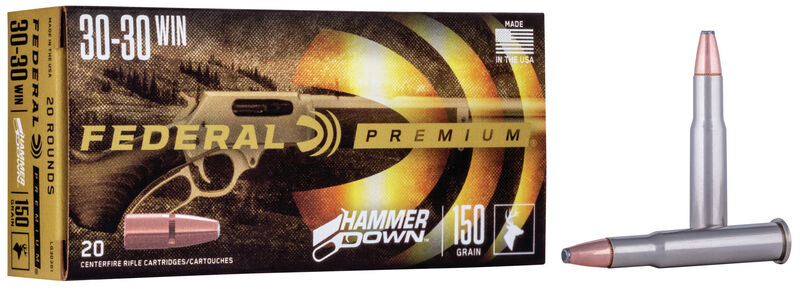 All of the HammerDown calibers are currently being offered in 20-round boxes.