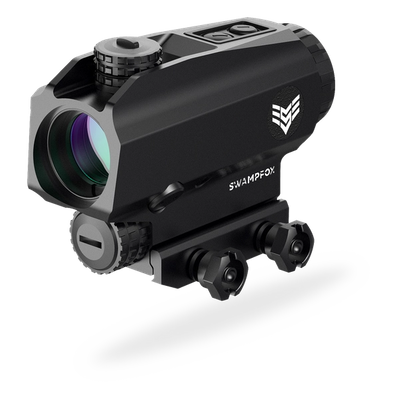 The Blade 1x25 prism scope.
