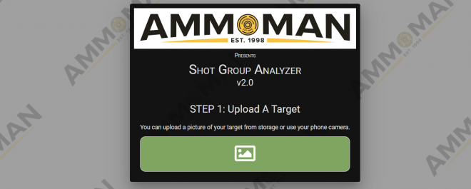 The New Shot Group Analyzer from AmmoMan.com
