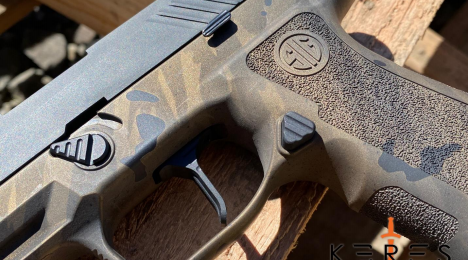 New P320/M17 Slim Takedown Lever from Keres Dynamics
