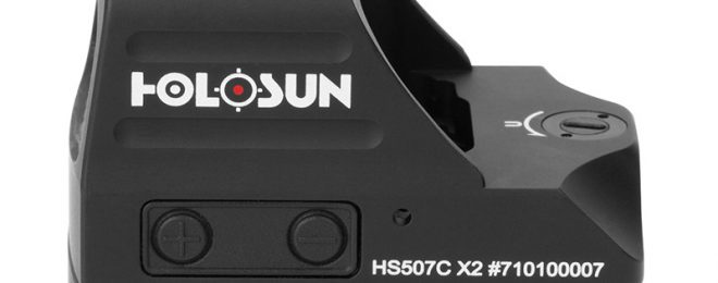 New X2 Series Pistol Optics just Announced by Holosun