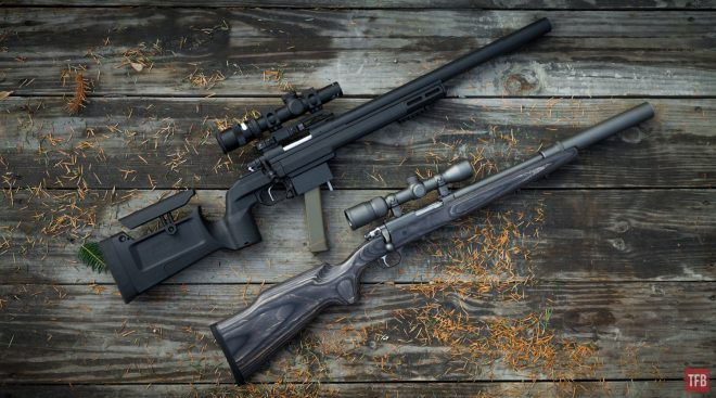 Curtis Tactical 9mm CT700P vs Ruger 77/357