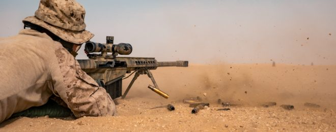 POTD: M107 Semi-Automatic Long Range Sniper Rifle in Kuwait