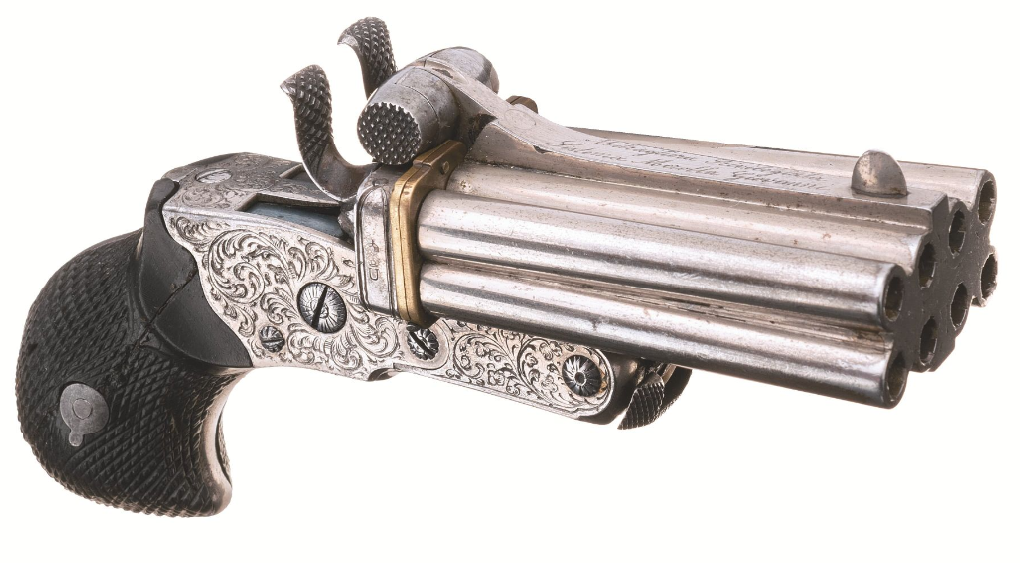 December 2020 Rock Island - 8 Barrel Duck Foot Pistol (1)