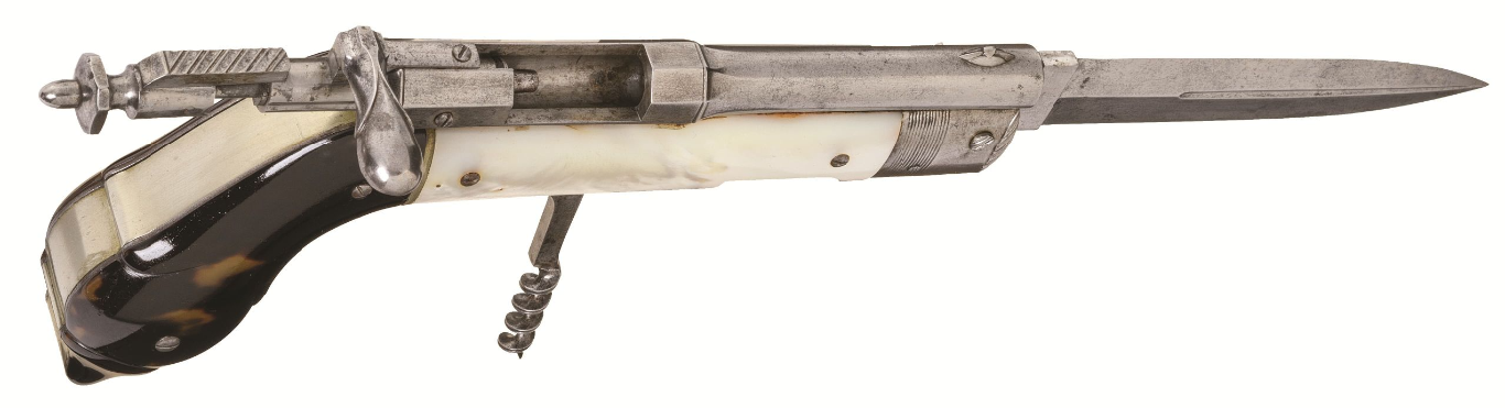 December 2020 Rock Island - French Needlefire Bolt Action Knife Pistol (2)