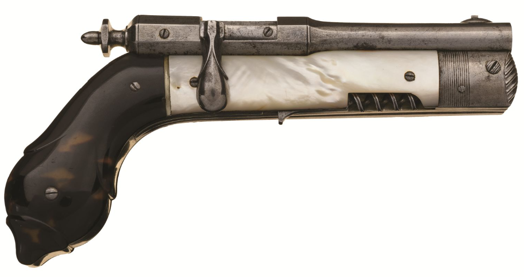 December 2020 Rock Island - French Needlefire Bolt Action Knife Pistol (4)