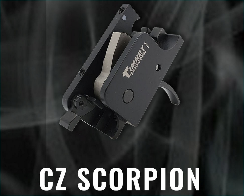 New Timney Trigger for CZ Scorpion -The Firearm Blog