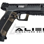 Lancer Systems has announced that Laugo Arms' export license has been issued, so Alien pistols are finally on the way.