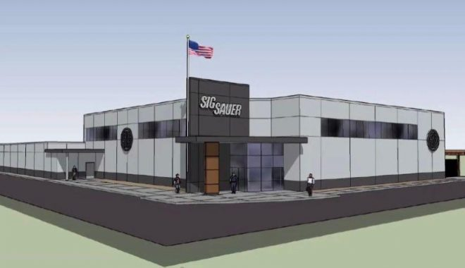 The SIG SAUER Academy may soon be getting a $13.5MM addition that would serve to improve their already-stellar training complex in Epping, NH.