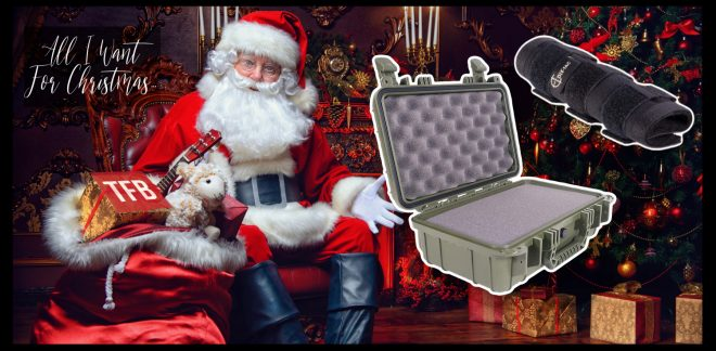 ALL I WANT FOR CHRISTMAS: Quiet Time Suppressor Stuff