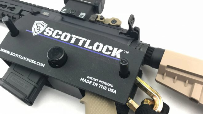 SCOTTLOCK - A Robust and Portable AR-15 Rifle Retention System