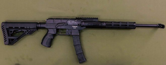 Molot Arms Sapsan - 9mm PCC Based on AS Val VSS Vintorez (1)