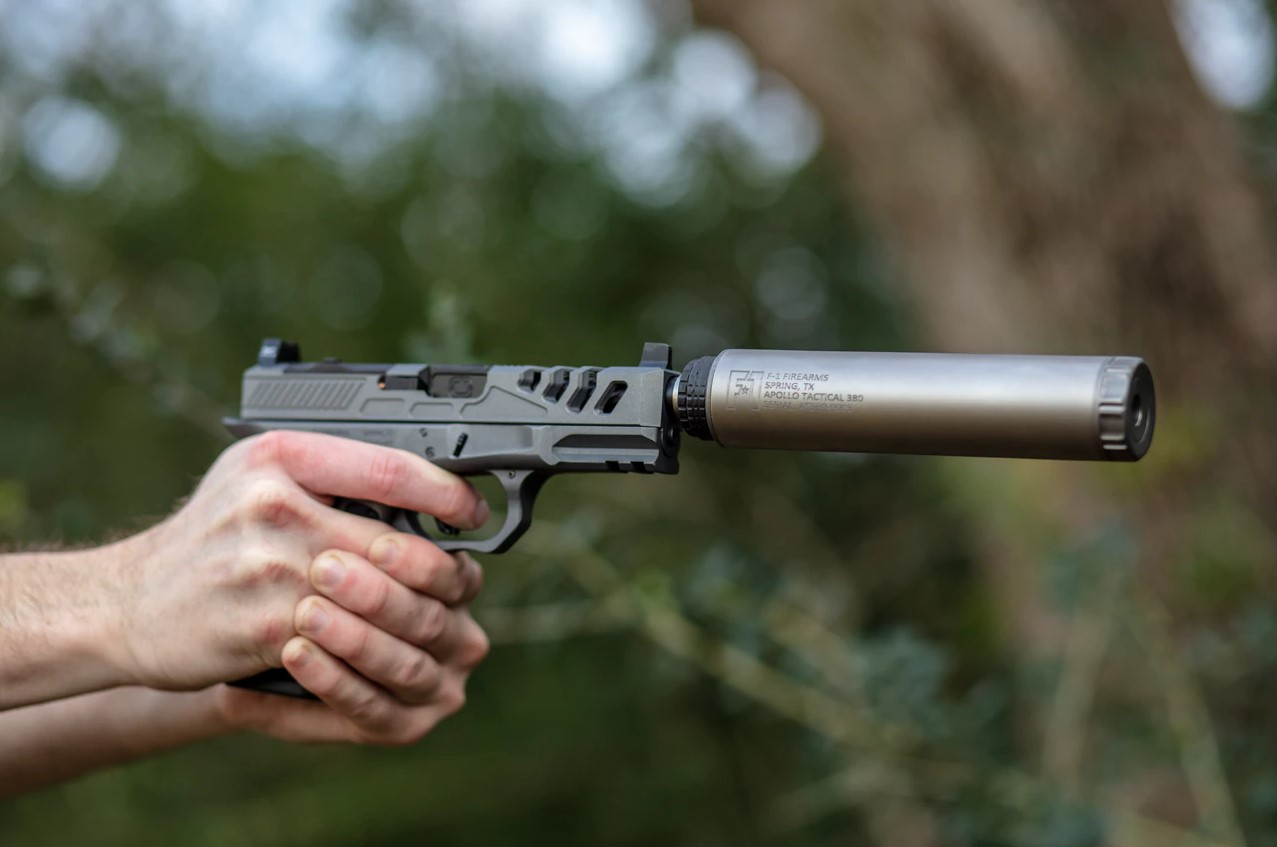 The Apollo Elite is a 9mm suppressor, for your pistol, subgun, and PCC needs.