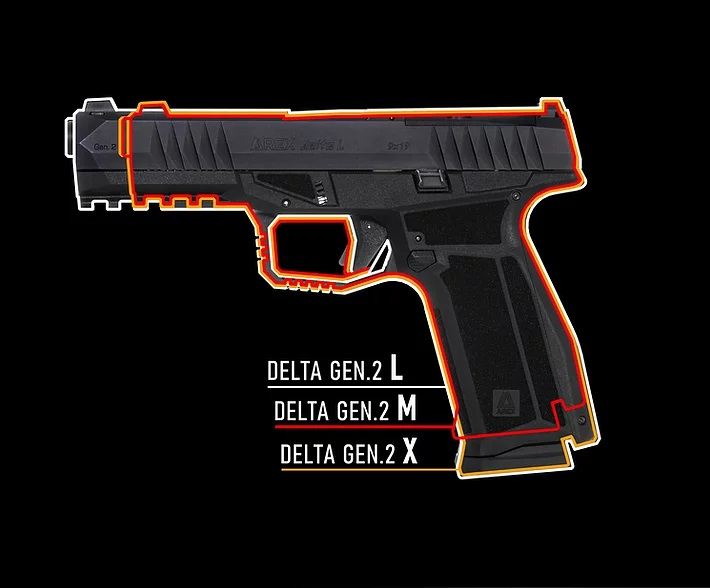 AREX Defense Announces Delta Gen 2 Striker Fired Pistol
