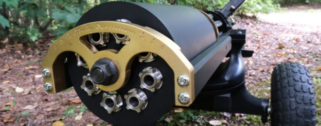 Quiet Times Eight! Liberty Suppressors Develops Gatling Gun Suppressor