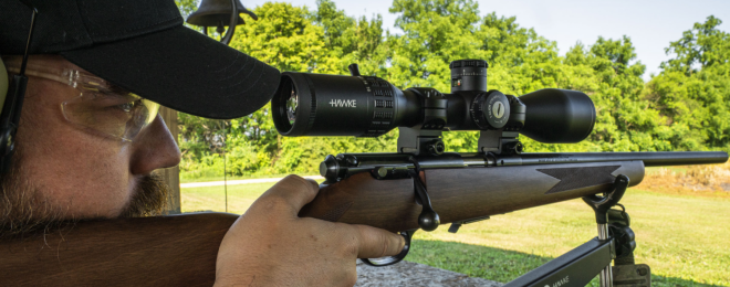 Hawke Optics Adds New FFP MOA Models to Sidewinder Riflescope Line