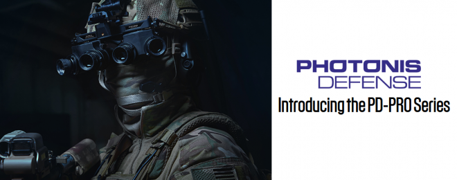 Photonis Defense has announced a new night vision product line, the PD-PRO series.
