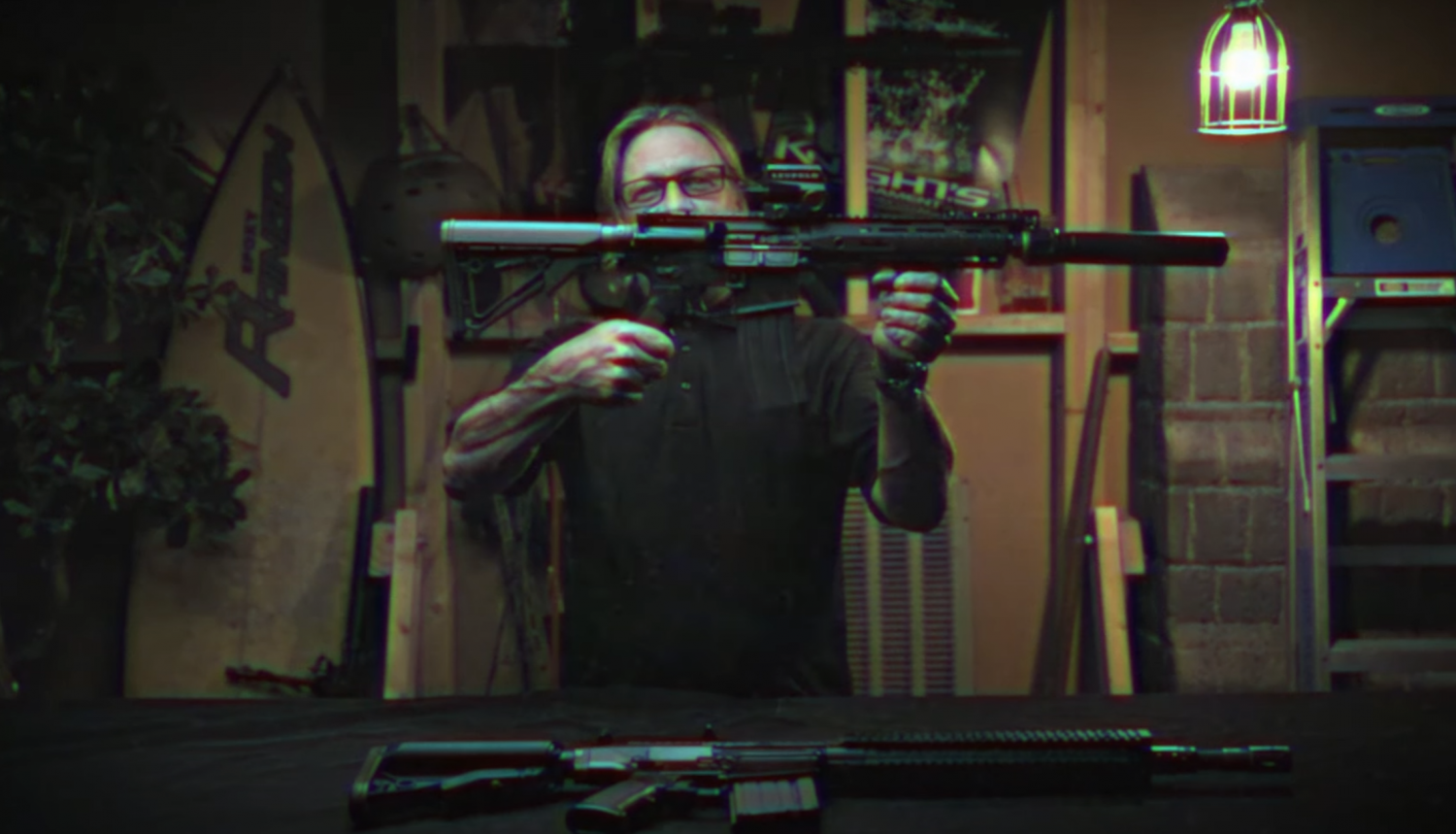 Knights Armament Teases New Variant of SR15 Rifle