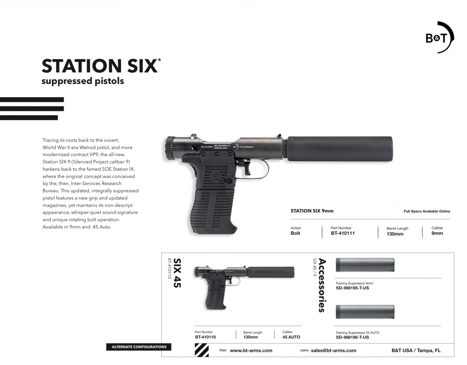 [TFB GUNFEST] Historic, Stealthy And Sexy - B&T Station SIX