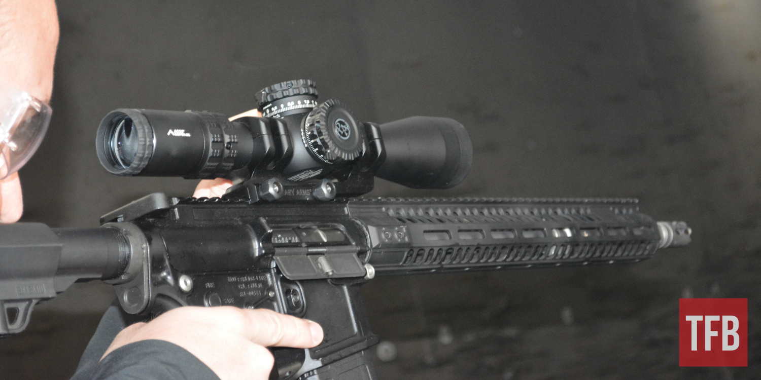 The GLx 2.5-10x scope offers some much-requested features at an approachable price point.