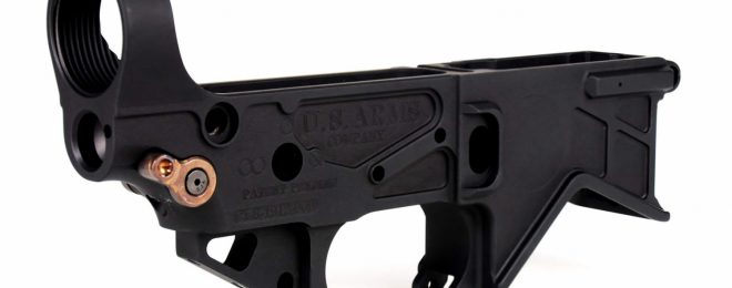 [SHOT 2020] USAC AR-15 Lower Receiver with Built-in Receiver Tensioning System (1)