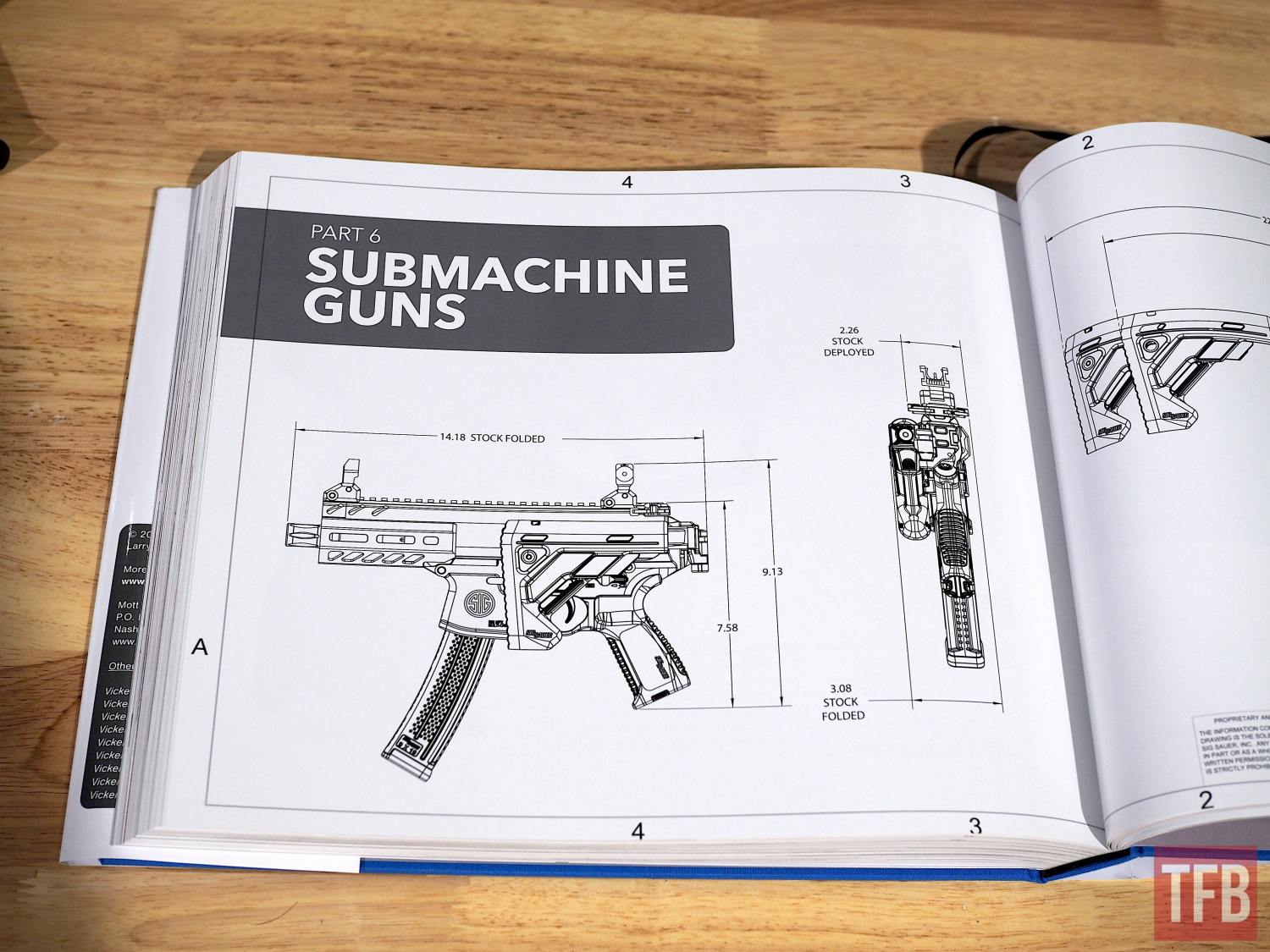 The section on Sig's submachine guns was utterly fascinating
