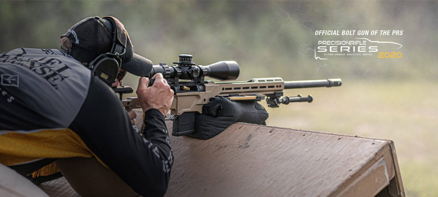 """The """"official bolt gun of the PRS"""" is an excellent recommendation for this newest Daniel Defense precision rifle."""