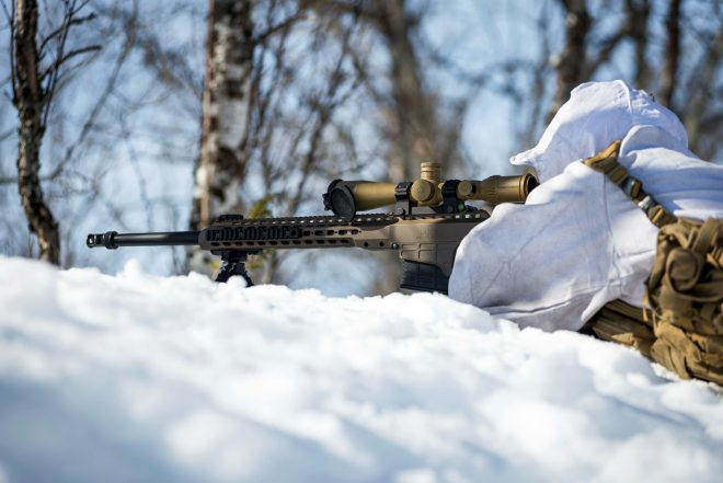 POTD: Barrett MRAD .338 Sniper Rifle in Norway