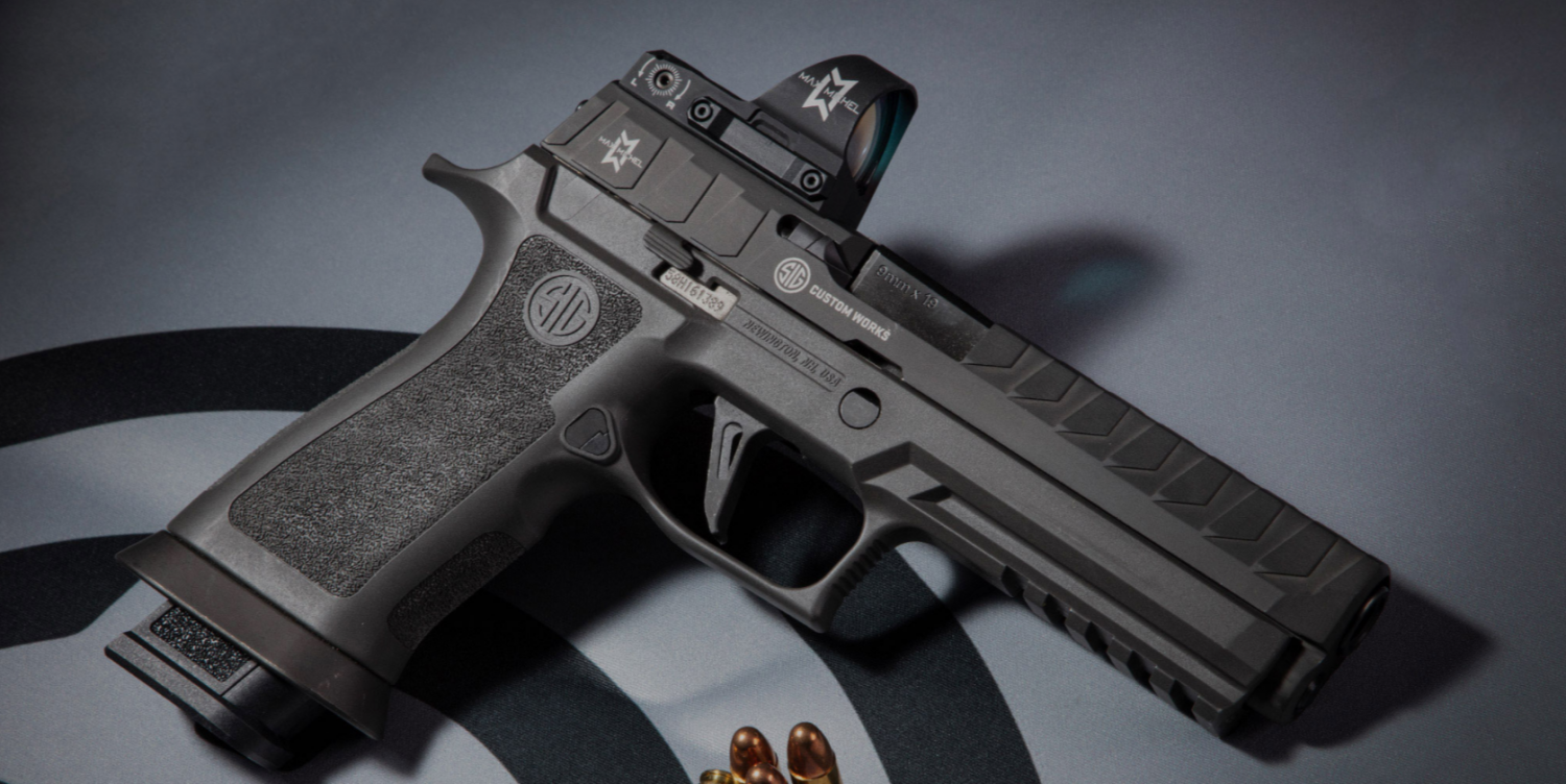 SIG Introduces the SIG P320MAX Competition Optimized Pistol