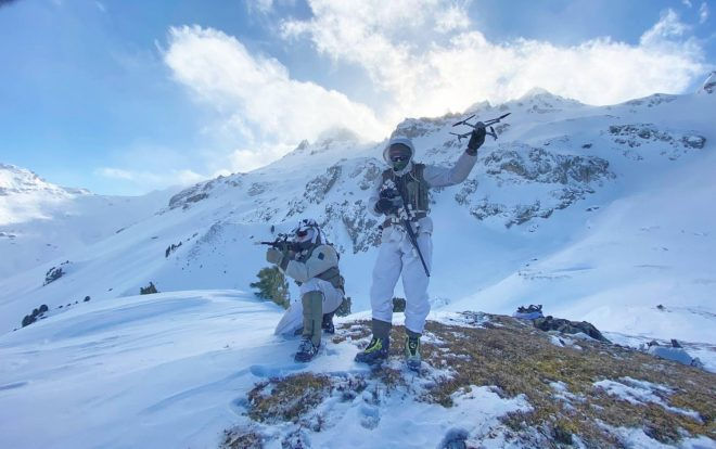 POTD: Steyr AUGs and Drones at the Top of the Tux Alps