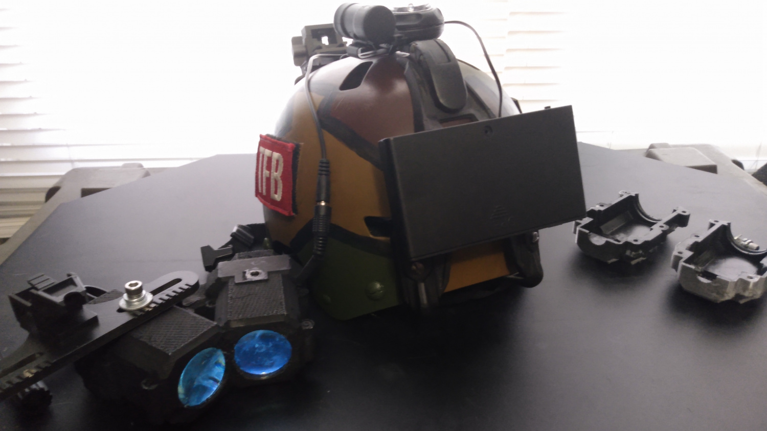 Open Source BPNVG (Bootleg Panoramic NVG) with TFB Reader Stubbs