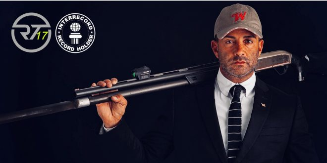 Raniero Testa World Record 17 Clays with 17 Shots in 2.08 Seconds (11)