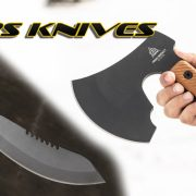 TOPS Knives Introduces the Brush Wolf and High Impact Blades