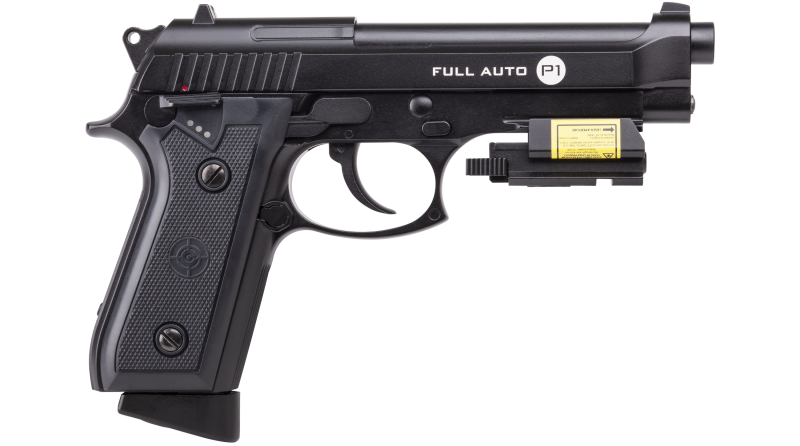 The New P1 Full Auto Blowback BB Air Pistol from Crossman
