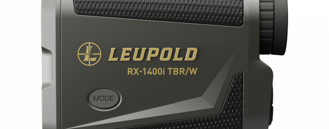 The New RX-1400i TBR/W Laser Rangefinder from Leupold