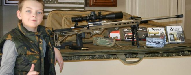 Warne Rallys Firearms Industry to Gift Rifle to Young Hunter
