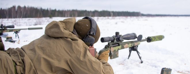 POTD: Latvia Sniper Detachment with C14 & C15 Sniper Rifles