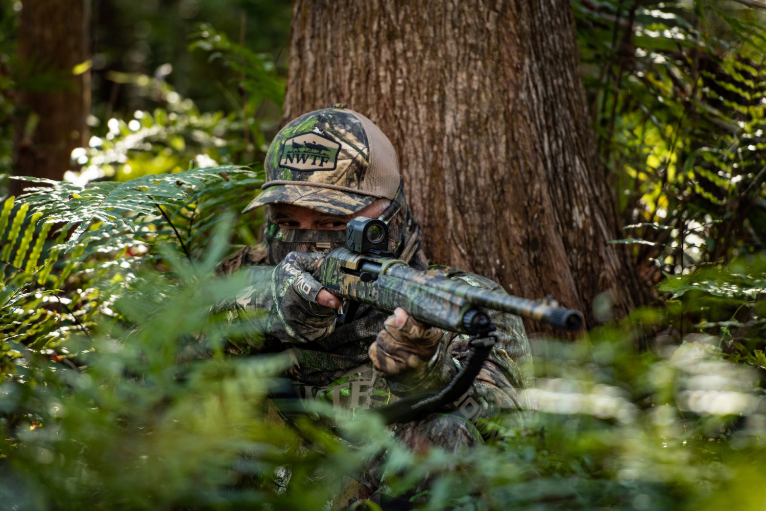 Nomad and Mossy Oak's Exclusive Shadow Leaf Camo Apparel