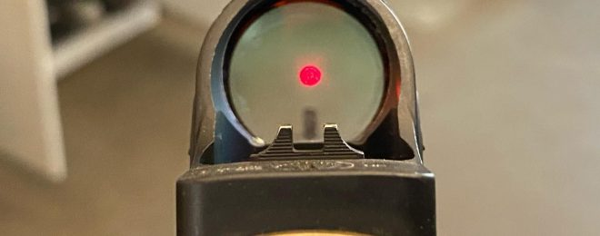 Parker Mountain Machine's Integrated Rear Sight (IDRS)