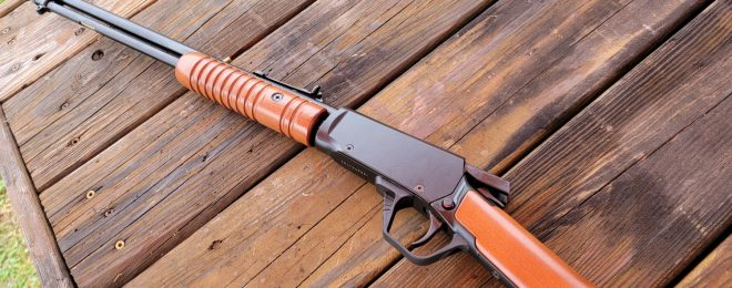 The Rossi Gallery 22 18-Inch 22LR Pump Action Rifle
