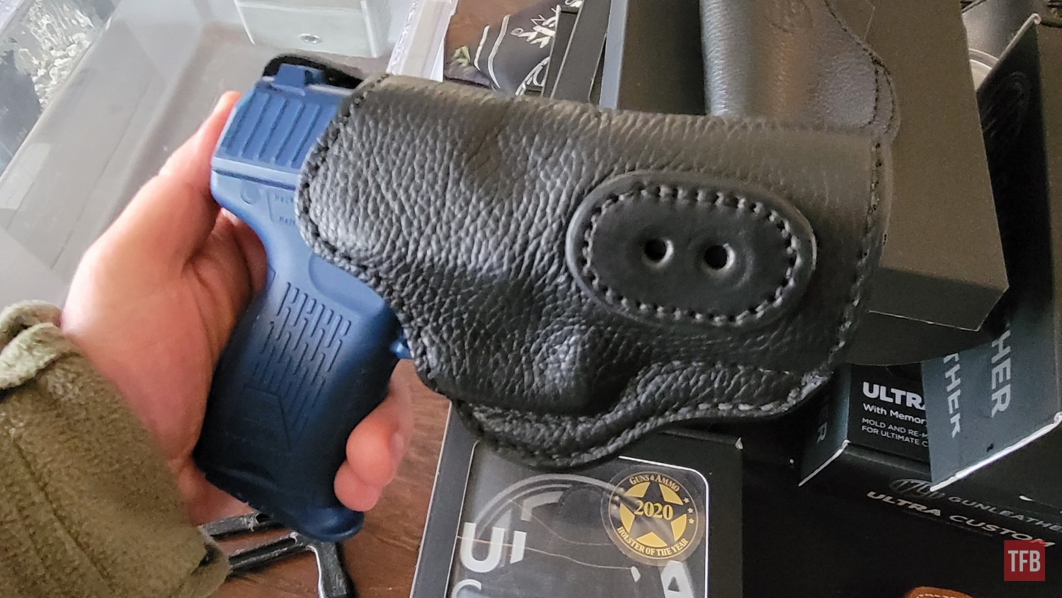 The 1791 Gunleather Ultra Custom OWB - Make your own Leather Holster