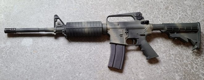 East Meets West - The 5.45x39mm AR-15