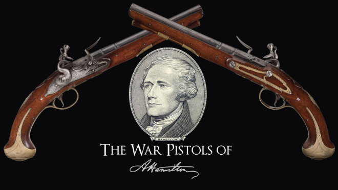Alexander Hamilton Pistols to be Auctioned at RIAC