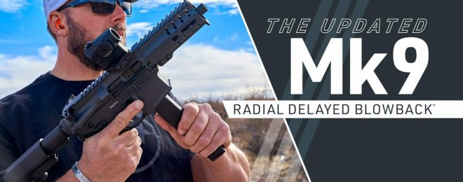 CMMG Mk 9 Now With Radial Delayed Blowback Action