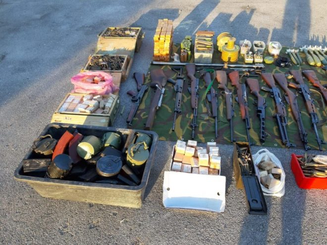 Croatian Man Turns in His Entire Arsenal to the Police